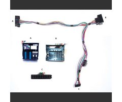 Kram Audio2car (MKi/Mini/Tablet) - Peugeot/Fiat/Citroen (m/Quadlock)