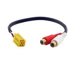 Connects2 AUX-adapter Alfa Romeo (m/mini-ISO)