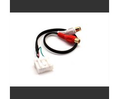 Connects2 AUX-adapter - Mazda m/forberedelse for Aux-inngang